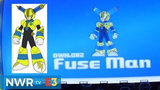 Mega Man 11 Gameplay - Fuse Man Stage (PS4)
