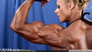 Kristy Hawkins - Female Muscle Fitness Motivation