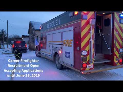 Six Nations Fire - 2019 Career Firefighter Recruitment