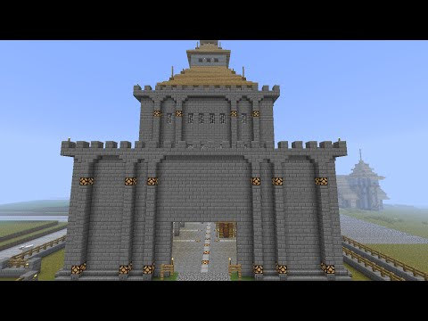Minecraft: Medieval Customs Building (harbor district) [part 87 season 1]