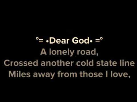 Dear God Karaoke