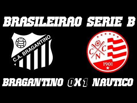 Melhores Momentos - Bragantino 0 x 1 Náutico - Campeonato Brasileiro Série B (04-10-16)