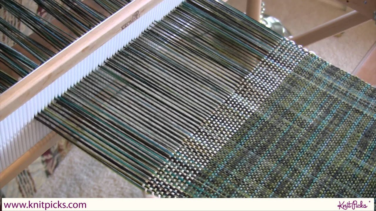 Kelley's Rigid Heddle Weaving Class - Part 9: Ending the Fabric