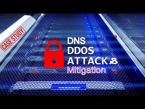 Cyber Security - DNS DDOS ATTACK [ Case study Scenario ] & DDOS Attack MITIGATION