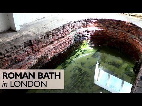 The Roman Bath in London