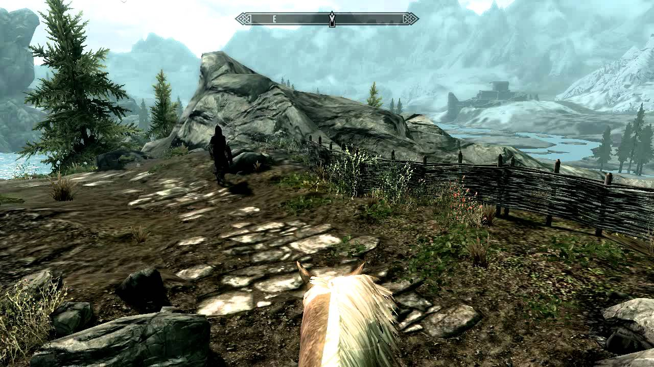 Skyrim First Person Horse Riding - Youtube-5112