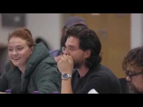 Game Of Thrones Cast REACT To Season 8 Script FINALE!!!!!