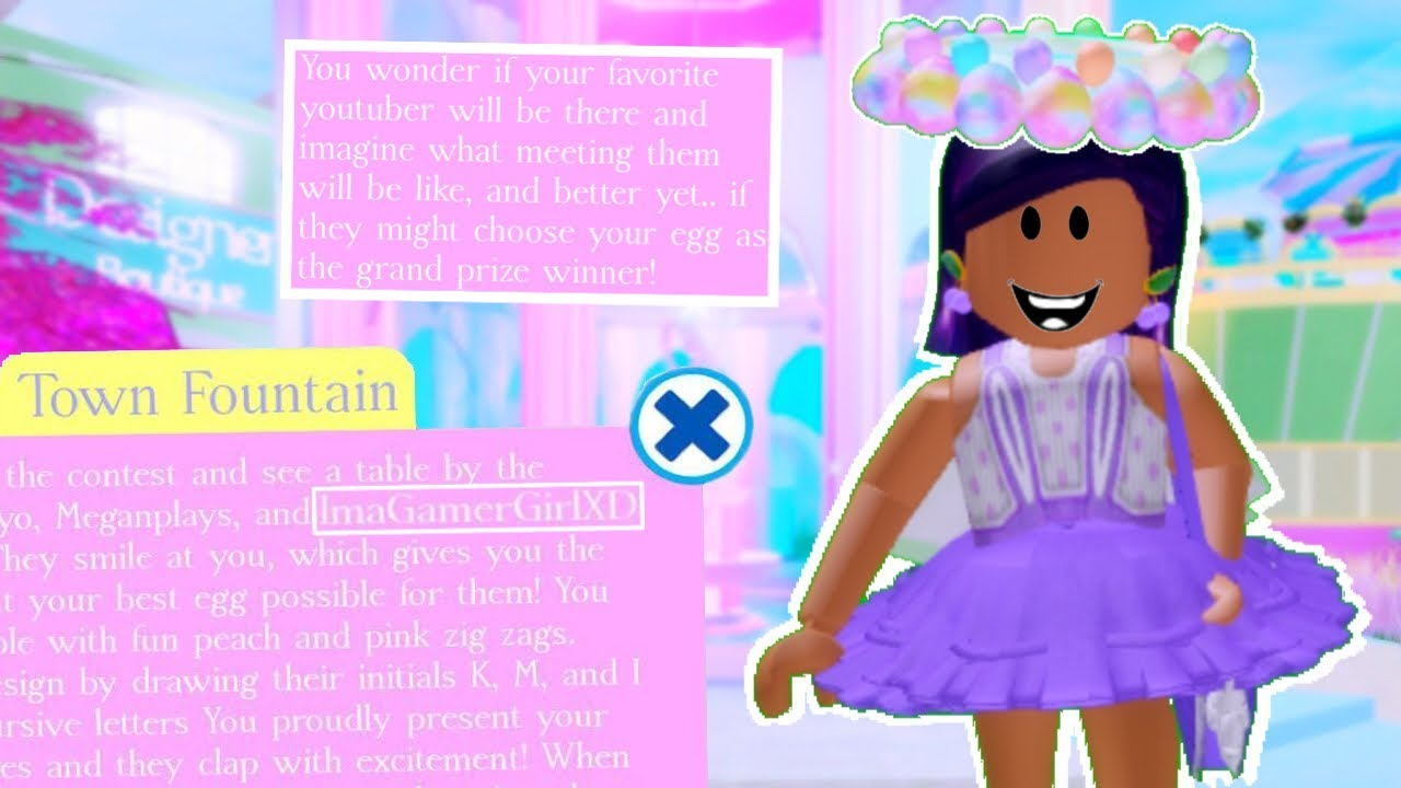 New Easter Halo I M In A Fountain Story Royale High Update