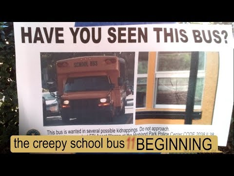 THE CREEPY SCHOOL BUS THE BEGINNING texting story