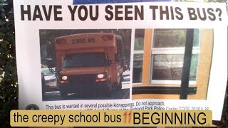 THE CREEPY SCHOOL BUS: ALISON'S STORY text story