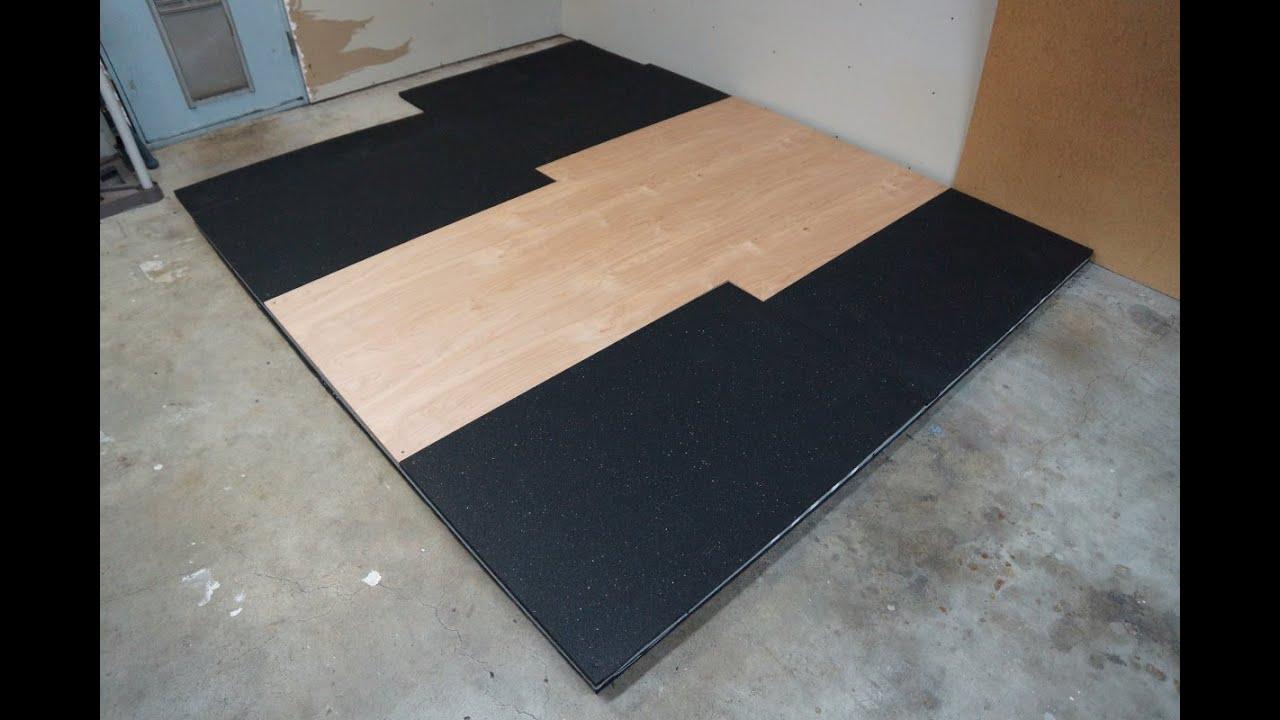 barbell weight lifting platform