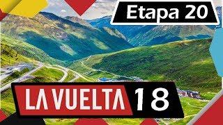 Vuelta a España 2018  Etapa 20   Recorrido