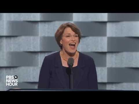 Watch Sen. Amy Klobuchar