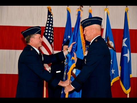 Air Force Space Command Change of Command Ceremony 2016