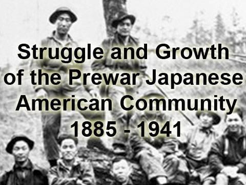 Prewar Japanese American Community