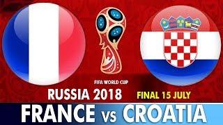 World Cup Final 2018 : France vs Croatia   इतिहास रचने को आमने-सामने होंगे फ्रांस और क्रोएशिया