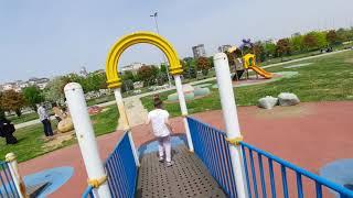 Öykü parkta eğleniyor🦸♀️🦸♀️🦸♀️ Hava çok sıcak🥵🥵🥵🥵🥵