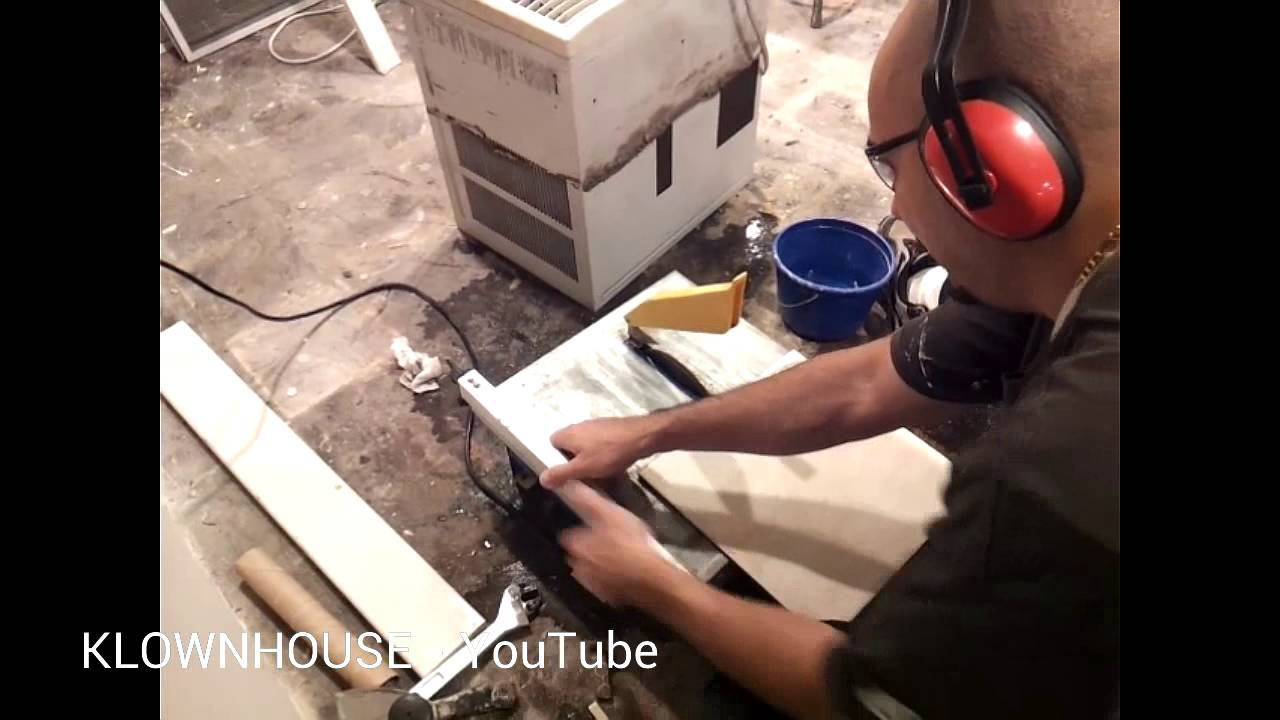 How to cut porcelain ceramic tile diy youtube how to cut porcelain ceramic tile diy dailygadgetfo Gallery
