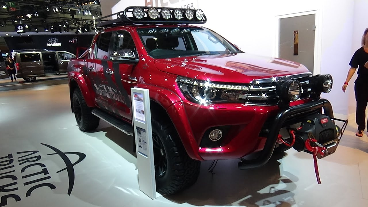 Toyota Land Cruiser Hd Wallpaper 2017 Toyota Hilux Arctic Trucks At 35 Exterior And