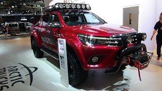 2017 Toyota Hilux Arctic Trucks AT 35 - Exterior and Interior - IAA Hannover 2016