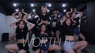 [창작안무] fifth harmony - worth it girlshiphop dance choreography 대구댄스보컬학원 파이브뮤직앤댄스 걸크러쉬