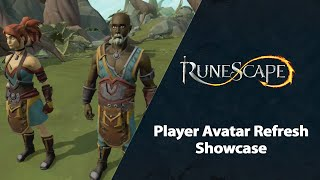 Player Avatar Refresh Showcase | RuneScape Content Showcase (Feb 2021)
