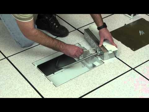 Wiremold How To Install Evolution Floor Box In Raised