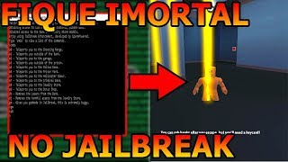 TEACHING HACKER IMMORTALITY JAILBREAK!!! ROBLOX