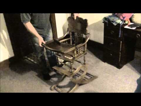 Awsome highchair from 1800's