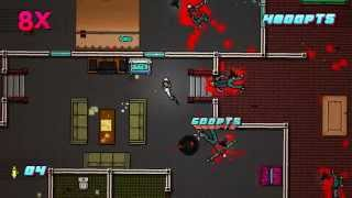 Hotline Miami 2 - Scene 7 - No Mercy - A+ Walkthrough (With Assassins Cred Achievement))