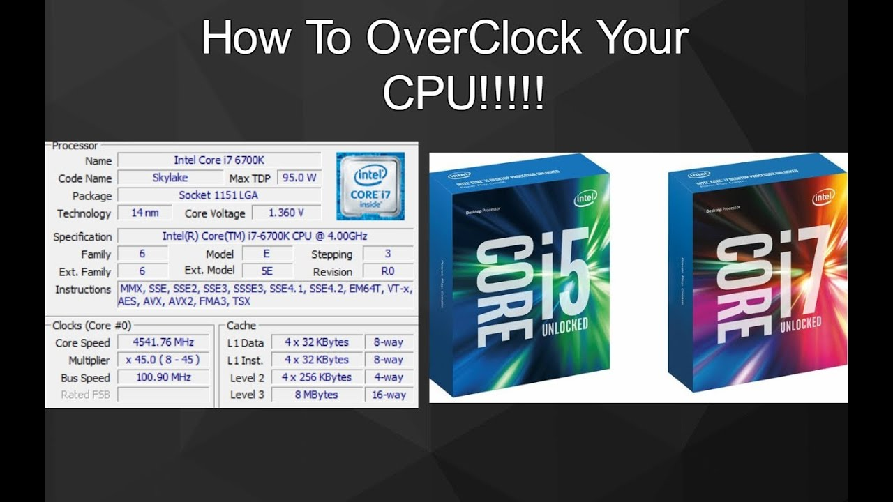 Intel Core i7-6700K 4.0 GHz Skylake CPU Processor LGA 1151 For Parts AS IS