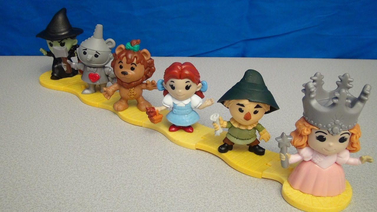 Mcdonald S Happy Meal Toys 2013 : Wizard of oz th anniversary mcdonald s happy meal