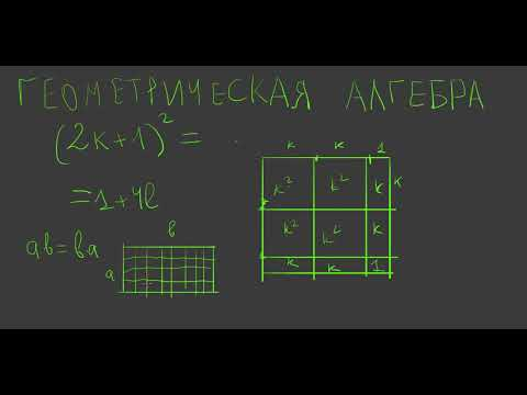 20  Геометрическая алгебра