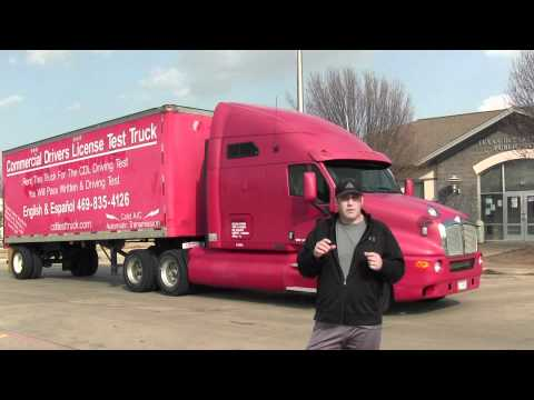 CDL School Dallas Texas Class A CDL Truck Rental Call (469) 332-7188