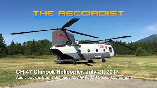 The Sound of a CH 47 Chinook July 21 2017
