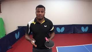 Serve Return With Banana Flip With Ojo Onaolapo