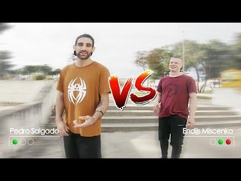 Pedro Salgado VS Endijs Mischenko - Peter Parkour Challenge