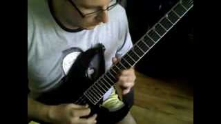 Running Wild - Black Wings Of Death (solo) Jackson SL2Q Pro Series Soloist