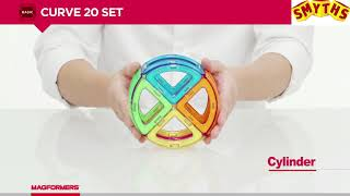 Magformers Curve20 Magnetic Construction Set