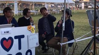 ライブを終えたキンモクセイのメンバーのトーク。ボーカル・伊藤さんは...