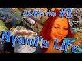 ASMR Nyami's Life vlog/Voice #2/Влог из жизни Нями #2/Тихй голос в конце немного шепота