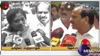 Thamilisai troll/h raja troll/funny videos