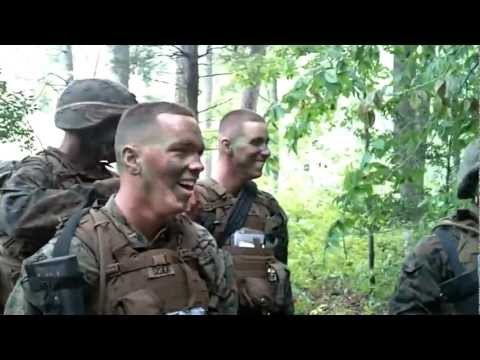 Echo 5-12 3rd Platoon Mess Night Video, The Basic School