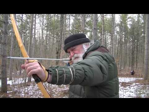 HEAD POSITION.ENGLISH LONGBOW. ACCURATE 7 SHOT GROUP,3D HUNTING DEER