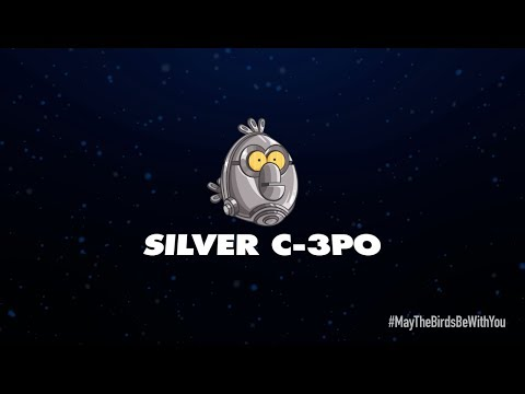 Angry Birds Star Wars 2 character reveals: Silver C-3PO