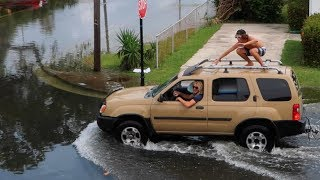 FLORIDA IS SINKING!! Surfing The Streets   JOOGSQUAD PPJT
