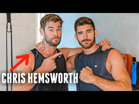 I Worked out with CHRIS HEMSWORTH - 90 Day Fitness Transformation