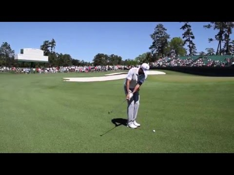 Jason Day's Practice Round Chipping- Augusta National & The Masters