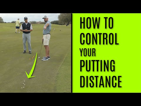 GOLF: How To Control Your Putting Distance