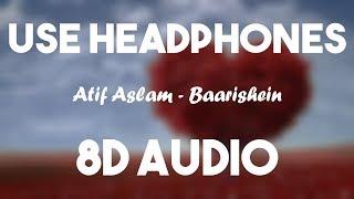 Gambar cover BAARISHEIN (8D AUDIO)   Arko Feat. Atif Aslam & Nushrat Bharucha   New Romantic Song 2019   T-Series